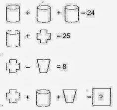 Best Brain Teasers: Maths Picture Puzzles With Answers. Solve the equations