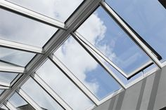 Modular Skylights - Atrium Longlight / Ridgelight from VELUX Commercial Memory Wall, Window Types, Small Buildings, Intelligent Design, Office Wall Decor, Cladding, Museum Of Modern Art, Architecture Design, Windows