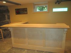 build a dry bar | The Learn As I Go Theater/Bar Build | gina house ...