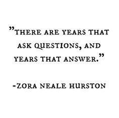 My 20's were for questions and it seems my 30's are my answers.