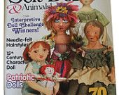 A whole magazine of projects-   Soft Dolls & Animals, July 2008 issue