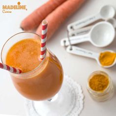 Suc de morcovi, ananas si turmeric / Carrot, pineapple & turmeric juice