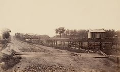The Chambersburg pike (picture taken facing west) served as the main roadway upon which the ANV made its advance on Gettysburg. Both Hill's and Longstreet's Corps would approach via this route, only Ewell's Corps would not as they were coming from Harrisburg to the Northeast.
