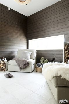 Inspiration for a low, long and thin window on the end wall of an attic bedroom.