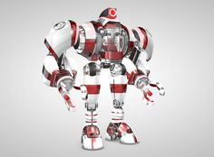 Robot With Cockpit – free 3D model ready for CG projects. Available formats: Cinema 4D (.c4d), OBJ (.obj), 3D Studio (.3ds), Stereolithography (.stl), DXF (.dxf), VRML (.wrl, .wrz), Collada (.dae), Other