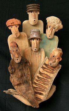 35 cm x 20 cm 10 cm Driftwood Sculpture, Driftwood Art, Sculpture Art, Driftwood Projects, Sea Crafts, Intarsia Woodworking, Found Art, Wood Creations, Recycled Art