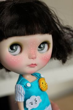 OMG!! Coulda been ENID!!!! OOAK custom Blythe doll with Monster outfit by crafting by isa268, $630.00