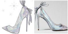 Designer Nicholas Kirkwood explained that he wanted his shoe design to reflect Cinderella's fantastical story of transformation.  www.teelieturner.com