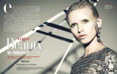 Publication: Vogue Taiwan August 2012 Model: Anja Konstantinova Photographer: Yossi Michaeli Hair: Amy Farid Make-up: Deanna Melluso