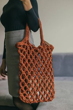 Crochet tote bag is perfect as market handbag or beach tote. Crochet tote can be called also as farmers market bag - now it is very popular between stylish women. Crochet tote bag is handmade and it is will suit any style and any occasion. **** IMPORTANT **** PLEASE LIST THE NUMBER OF