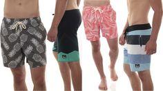 Alpine Swiss Mens Boardshorts Swim Trunks Hybrid Short Side Pockets Board Short | eBay