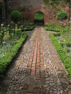 Greys Court - Walled Garden by Peter J Dean on Flickr.