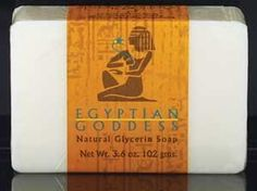 Egyptian Goddess Bar Soap by New Age. $6.95. Made from the finest natural vegetable oil, the recipe for Egyptian Goddess Soap contains unrefined cocoa butter and shea butter and is imbued with Auric Blend`s favorite sent: Egyptian Goddess. The result is a fantastic product that will leave your skin soft and moisturized and kissed ever so lightly by the fragrance of Egyptian Goddess. This is a 3.6 oz (102 gms) bar of Egyptian Goddess soap.