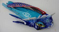 Blue Lenguado Fish. SOLD