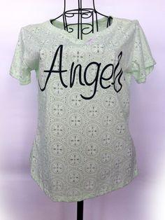 Thun chữ angel   Jeans Siêu Rẻ