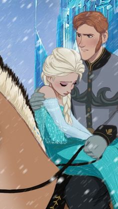 I think that Frozen has a missing piece. A deleted scene, although Disney probably didn't make it. How did Hans get Elsa to the palace? Did she ride on his horse with him, while he held her unconscious body close? Did he consider canceling his evil scheme? I think Frozen 2 ought to answer these questions. What do you think?