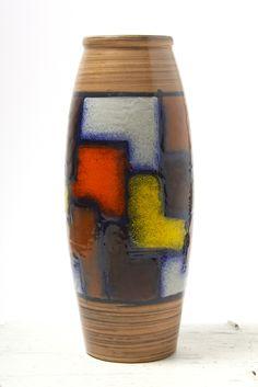 Bitossi Ceramiche 'Vetrata' vase, Italy circa 1966