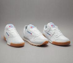 "Reebok Classic ""White   Gum"" Pack 916f9ded3"