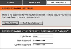 How to Assign a New Password to Your Router