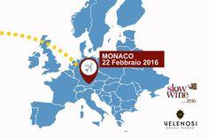 VELENOSI Vini parte per MONACO con SLOW WINE.   Lunedì 22 Febbraio saremo a Monaco insieme a Slow Wine per presentare i vini ad un pubblico di professionisti, giornalisti, sommelier e consumatori.  Vi aspettiamo per farvi degustare i nostri migliori vini.   -   VELENOSI Vini go to MUNICH with SLOW WINE.   Monday 22nd of February we'll be in Munich with Slow Wine to introduce the wines to industry professionals and consumers.   Join us to taste our best wines.