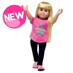 Springfield® Star T-shirt & Legging Set Made To Fit 18 Inch American Girl Dolls #Springfield