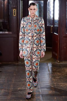 Alexander McQueen | Fall 2013 Menswear Collection | Style.com