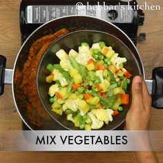 Stuffed cabbage in kit form - Recipe Guide Mix Veg Recipe, Mix Vegetable Recipe, Vegetable Curry, Sprouts Salad, Brussel Sprout Salad, Curry Recipes, Vegetable Recipes, Indian Veg Curry Recipe, Sabzi Recipe