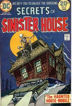 Secrets of Sinister House DC Comics Dc Comics, Creepy Comics, Horror Comics, Horror Films, Horror Art, Vintage Comic Books, Vintage Comics, Comic Books Art, Vintage Toys
