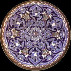 decorative plate made in South Spain