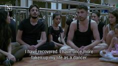 Dance or die: Syrian dancer fights the war in his own way