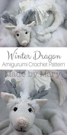 Crochet Crochet Patterns This winter kite amigurumi crochet pattern is beautiful! It would be the p …, Patterns This winter kite amigurumi crochet pattern is beautiful! It would be the p … Crochet Patterns Diese Winter Drachen Amigurumi Häkelanl. Amigurumi Animals, Crochet Patterns Amigurumi, Crochet Animals, Crochet Dolls, Knitting Patterns, Yarn Animals, Crochet Gifts, Cute Crochet, Beautiful Crochet