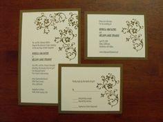 stampin up wedding invitation ideas - Google Search