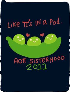 So cute and would be such an easy switch to ADPi