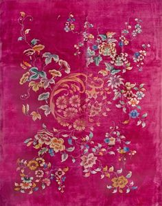 "#170 Chinese Art Deco carpet    9'0"" x 11'6""    circa 1930"