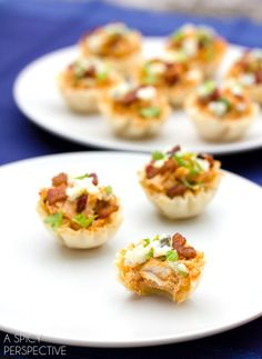 The Best Buffalo Chicken Bites | A Spicy Perspective #superbowl #gameday #partysnacks