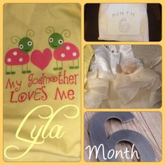 Month 6 Lyla is the little princesses name!