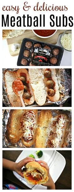 When it comes to feeding my family during the week, I look for meals that are easy, delicious, and come together fast. Meatballs subs are a family favorite for all three reasons!
