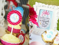 Alice in Wonderland 7th Birthday Party | CatchMyParty.com