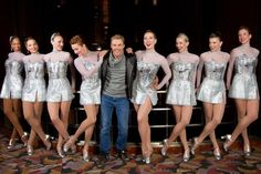 Derek Hough & the Rockettes