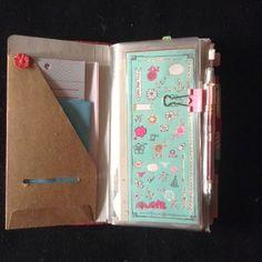 The Storage Studio: Using a Midori Traveler's Notebook as a ...