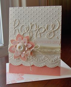 Stampin' Up! Crazy About You Mother's Day Card - Laura's Works of Heart