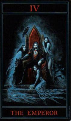 The Gothic Tarot: The Emperor