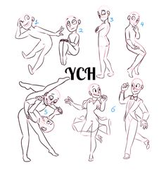 Character poses