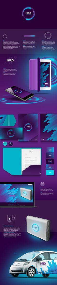 NRG. Charge-Made-Easy on Behance Design Sites, App Design, Layout Design, Logo Design, Letterhead Design, Web Layout, Menu Design, Label Design, Brochure Design
