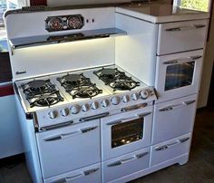 From The Old Vintage Stoves Look To The New Reproduction One's!