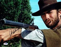 Clint Eastwood 'The Good, the Bad and the Ugly' Signed 11x14 Photo Certified Authentic PSA/DNA