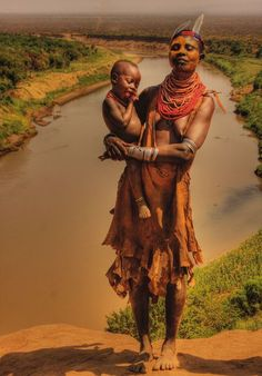 Omo River Mother Photo by Cezary Filew -- National Geographic Your Shot
