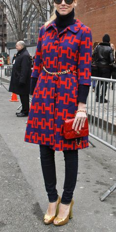 7 Surprising New Ways to Style a Turtleneck - With Prints  - from InStyle.com