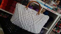 Diva ribon ile yaptigim çanta Straw Bag, Tote Bag, Bags, Handbags, Totes, Bag, Tote Bags, Hand Bags
