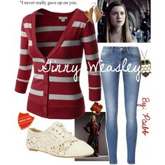"""""""Ginny Weasley"""" by pcubb on Polyvore"""